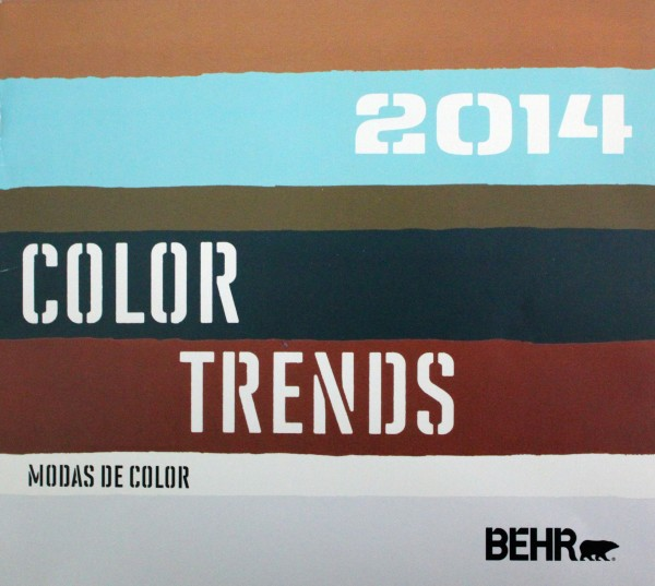Behr 2014 color trends