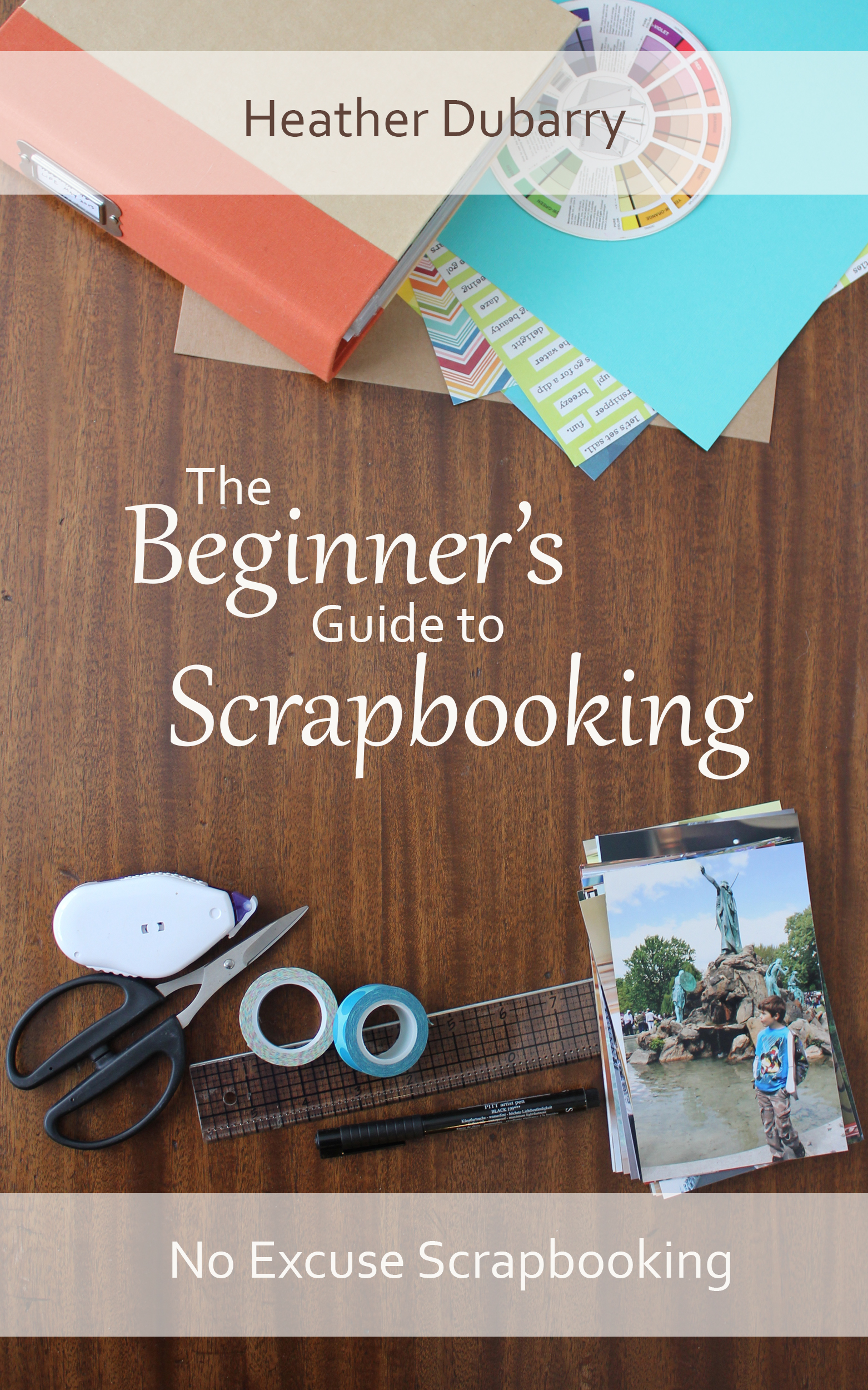 How to scrapbook pictures
