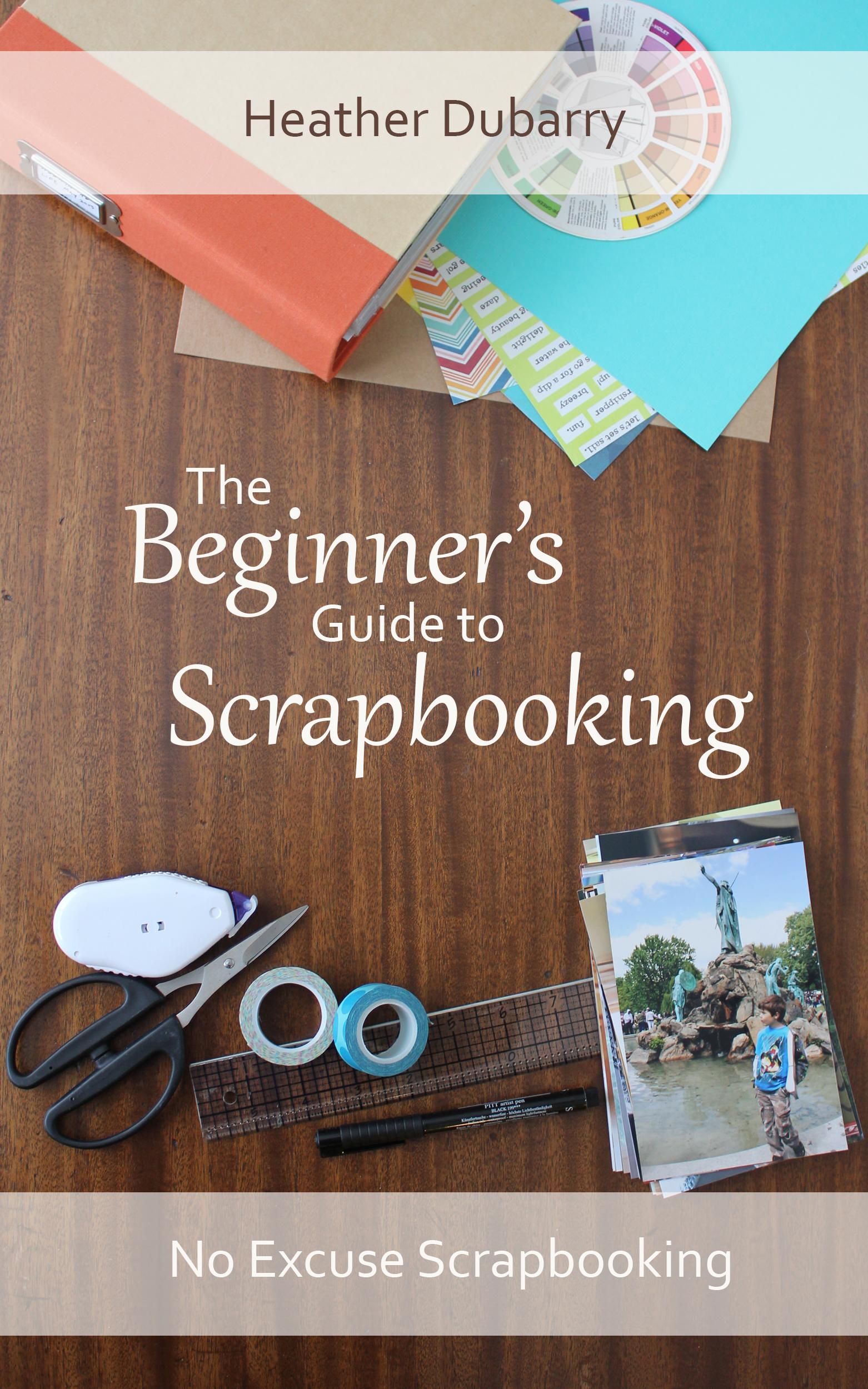 How to scrapbook photos - Let Me Show You How
