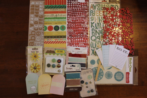 s's dastardly plans embellies || noexcusescrapbooking.com