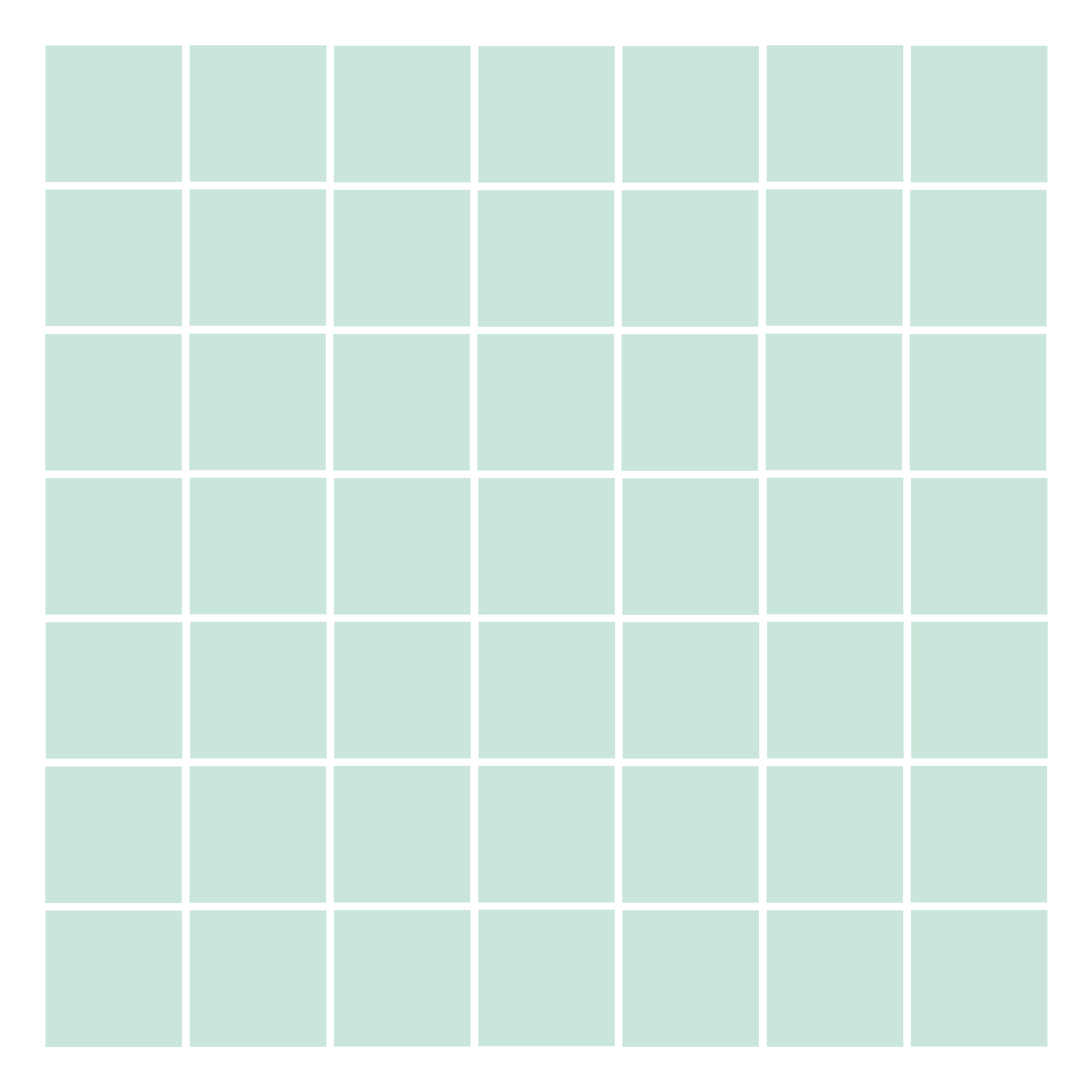 grid layout small squares || noexcusescrapbooking.com