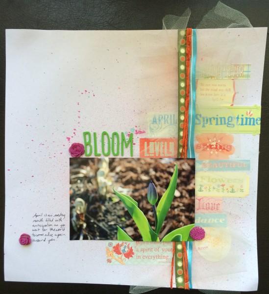 bloom || noexcusescrapbooking.com