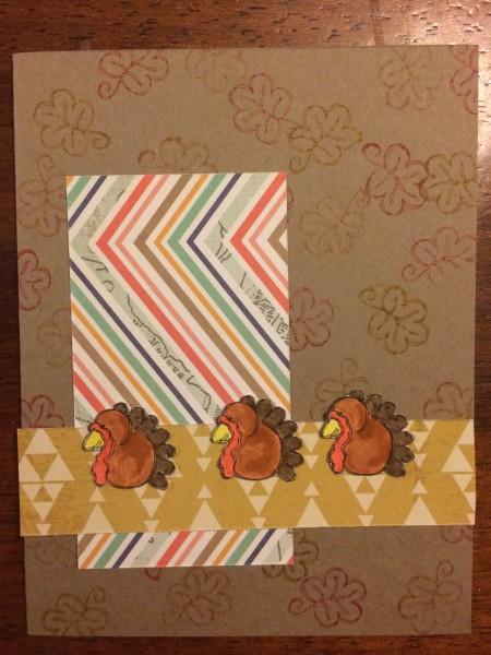 happy turkey || noexcusescrapbooking.com